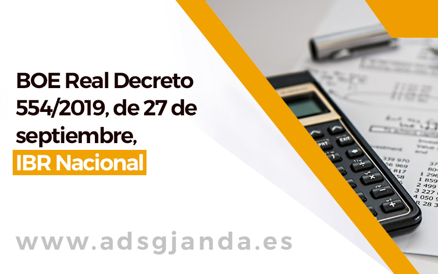 BOE Real Decreto IBR Nacional